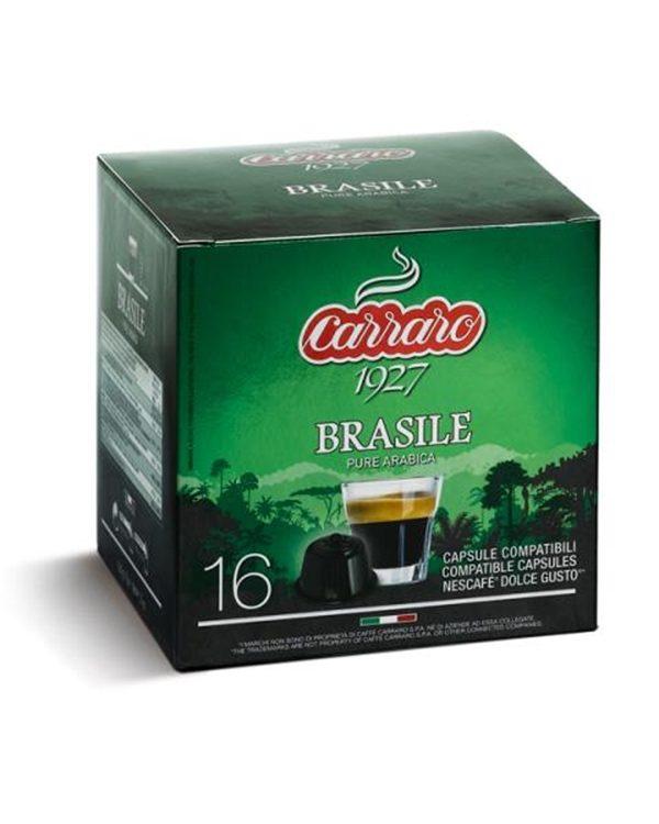 100% Arabica, Arabica, Caffe Carraro, Dolce Gusto, kapsule, kapsule za kavo, kava, kavne kapsule, Kompatibilne kapsule, Single Origin Brasile, Barcaffe DOT