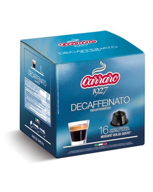Brezkofeinska kava, Caffe Carraro, Dolce Gusto, kapsule, kapsule za kavo, kava, kava brez kofeina, kava v pisarni, kavne kapsule, kavni aparat, kavni avtomati, Kompatibilne kapsule, Barcaffe DOT
