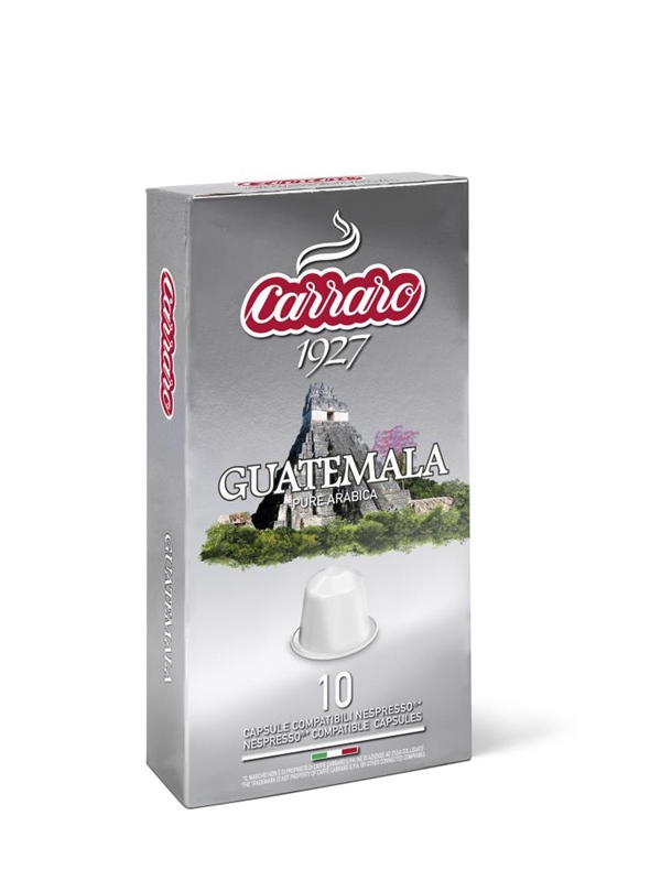 Arabica, espresso, kapsule za kavo, kavne kapsule, Kompatibilne kapsule, Nespresso, Single Origin Guatemala