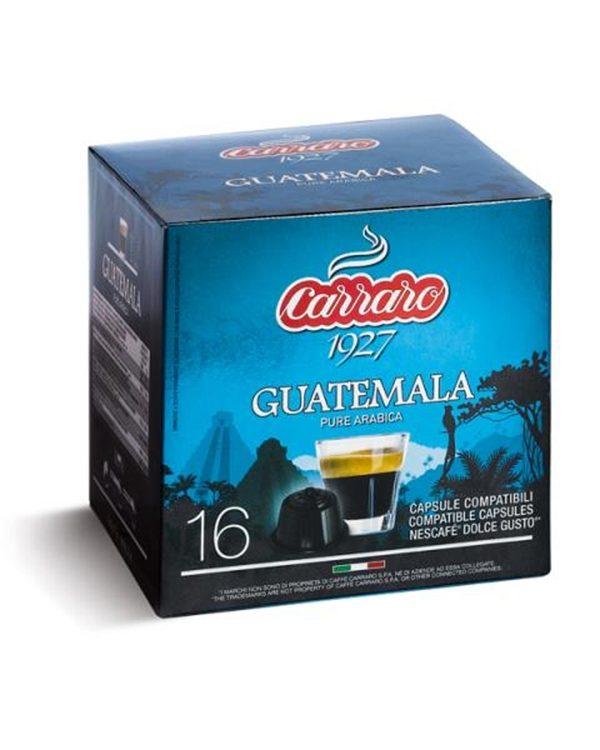 100% Arabica, Arabica, Caffe Carraro, Dolce Gusto, kapsule, kapsule za kavo, kava, kavne kapsule, Kompatibilne kapsule, Single Origin Guatemala, Barcaffe DOT