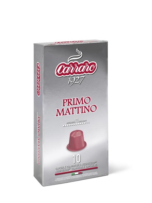espresso, kapsule za kavo, kavne kapsule, Kompatibilne kapsule, Nespresso, Primo Mattino