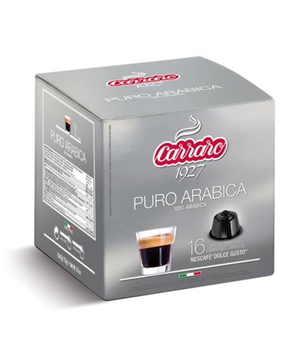100% Arabica, Arabica, Arabika, Caffe Carraro, Dolce Gusto, kapsule, kapsule za kavo, kava, kava v pisarni, kavne kapsule, kavni aparat, kavni avtomati, Kompatibilne kapsule